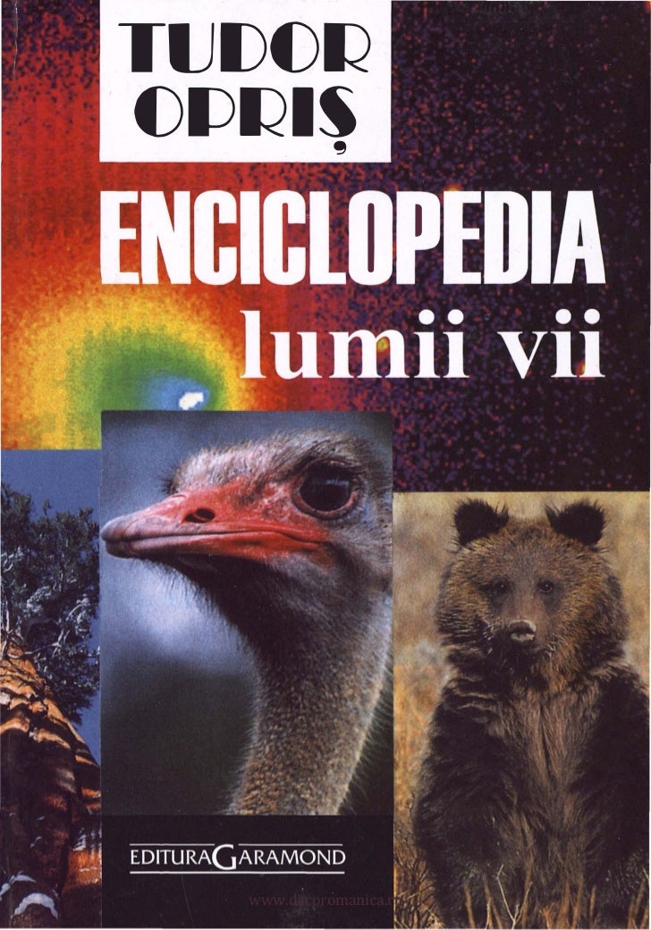 Tudor opris   enciclopedia lumii vii