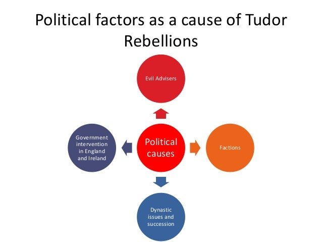 Rebellion Political Tudor Rebellions Political