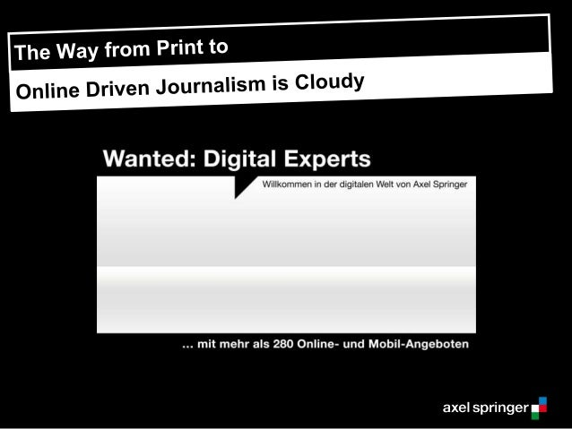 The Journey from Print to to Online Journalism is Cloudy (Cloud Foundry Summit 2014)