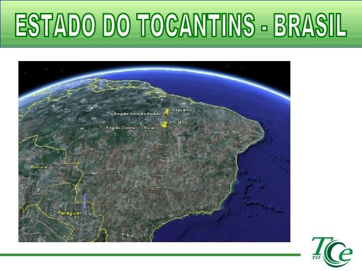 ESTADO DO TOCANTINS - BRASIL