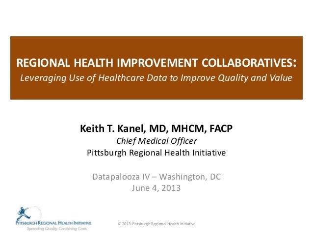 Health Datapalooza 2013: Employer Use of Data - Keith Kanel