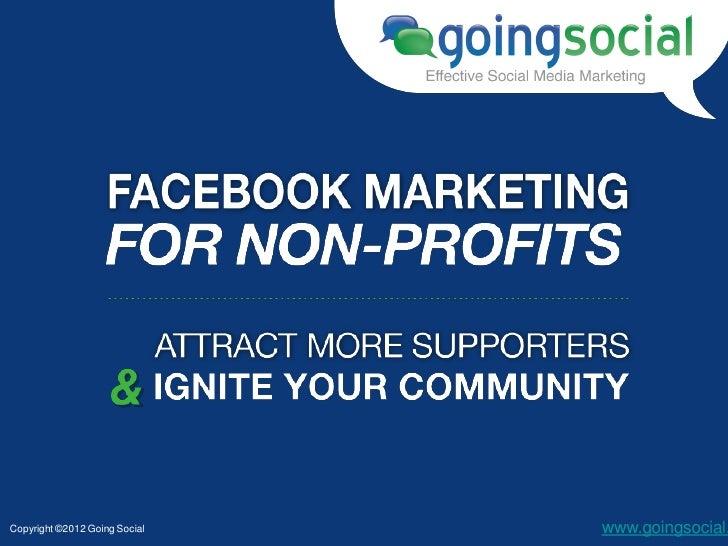 Copyright ©2012 Going Social   www.goingsocial.