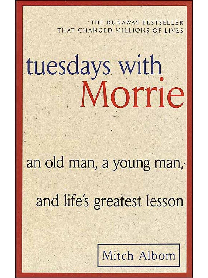 Tuesdays with Morries?!