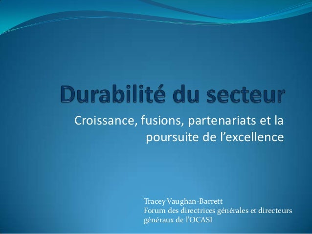 Tues oct 23 am sector sustainability tracey vaughan french