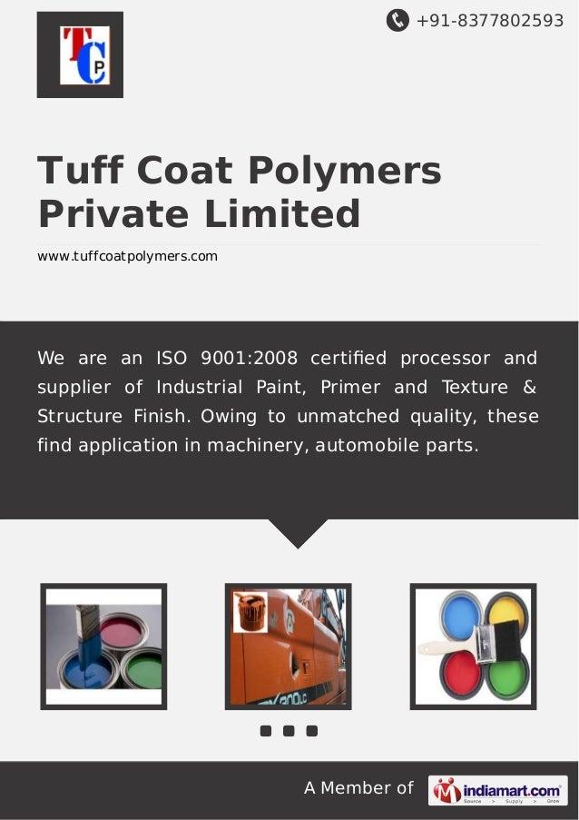 Intermediate Coats,  Court Paints,  Rust Converter