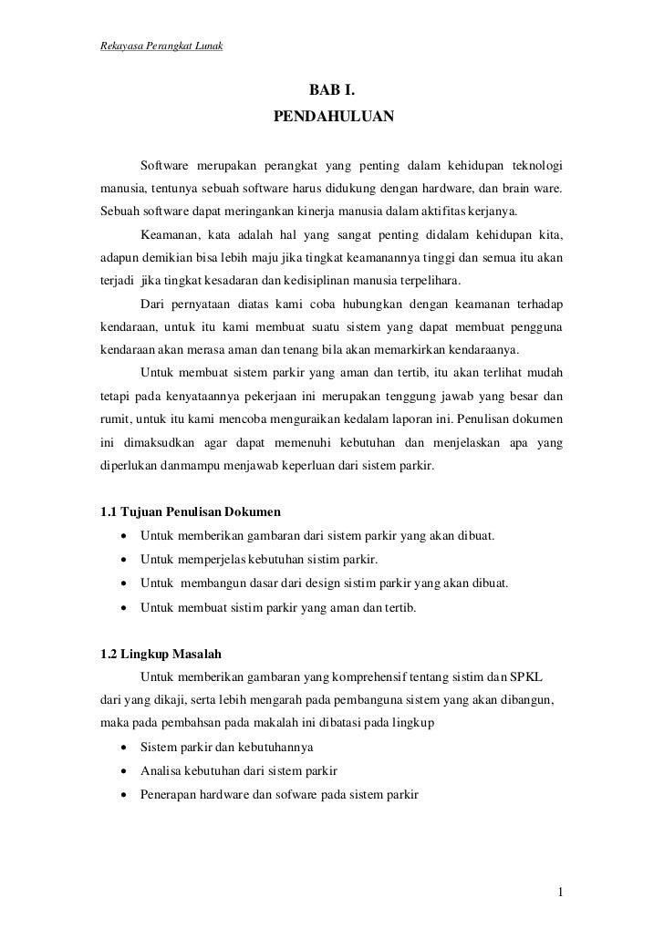 Rekayasa Perangkat Lunak                                       BAB I.                                PENDAHULUAN       Sof...