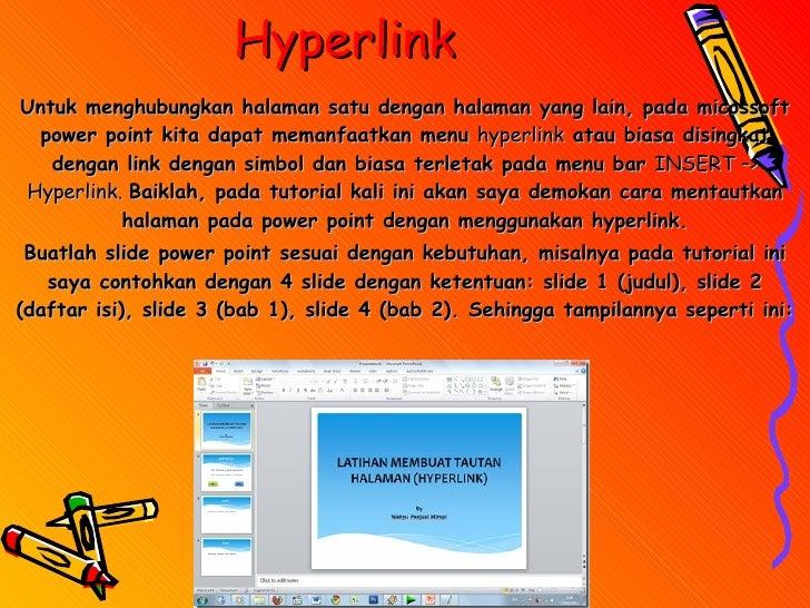 Tugas KD 3 cara menggunakan hiperlink