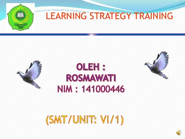 LEARNING STRATEGY TRAINING