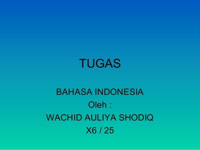Tugas b. indonesia