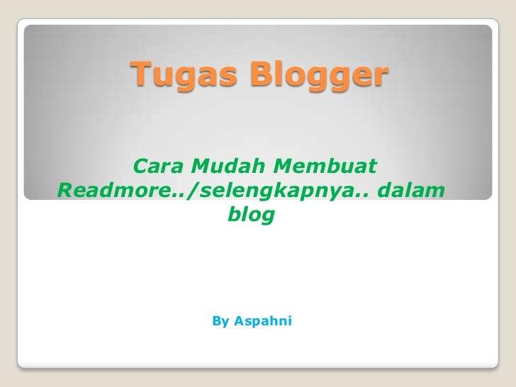 Tugas blog q