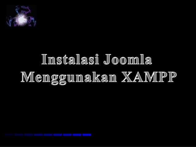 Instal Joomla