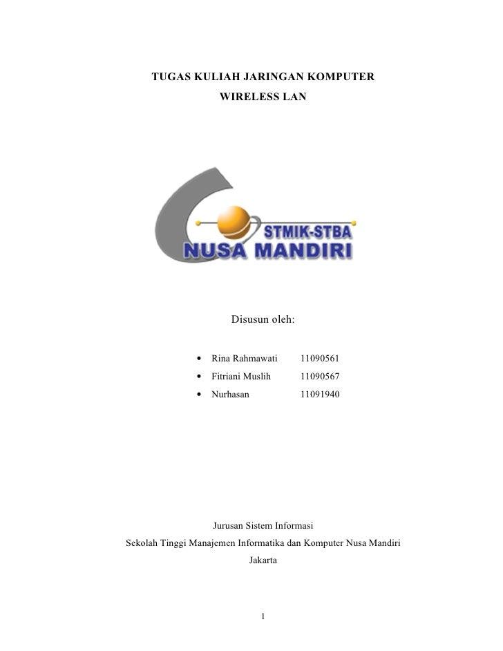 Tugas Jaringan Komputer_Wireless LAN