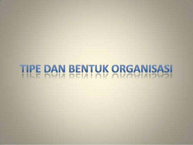 Struktur Organisasi Data