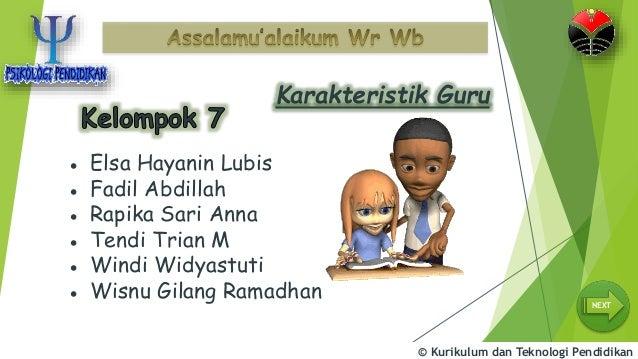Karakteristik Guru Efektif Psikologi Pendidikan