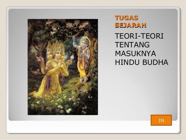 Teori Teori Tentang Masuknya Hindu Budha