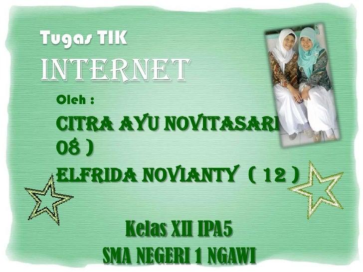 Tugas TIK_Internet