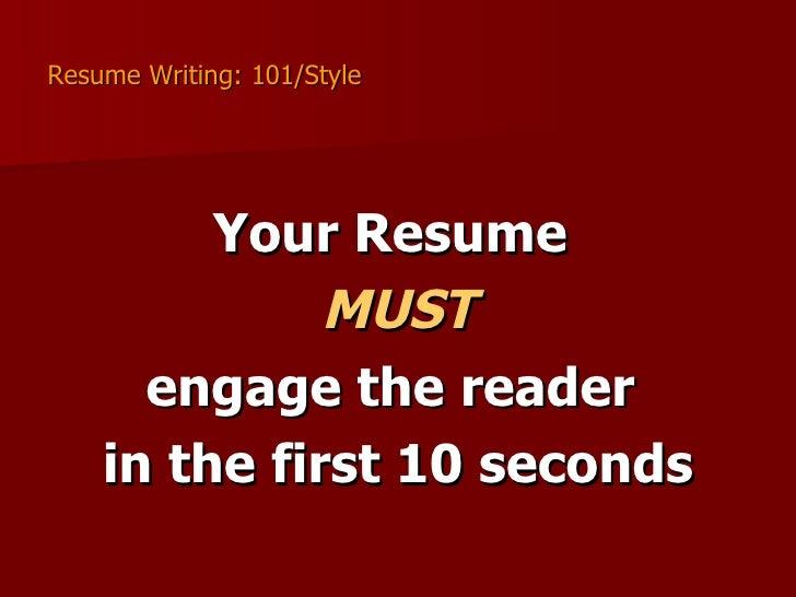 Buy resume for writing 101