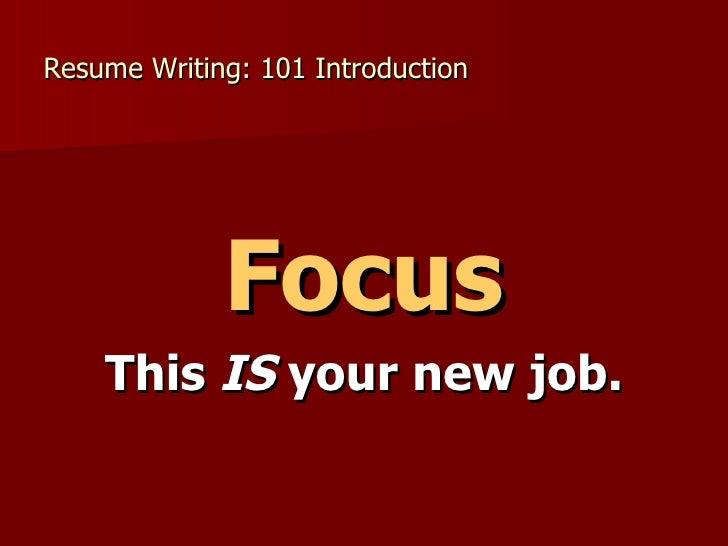 resume writing services boston