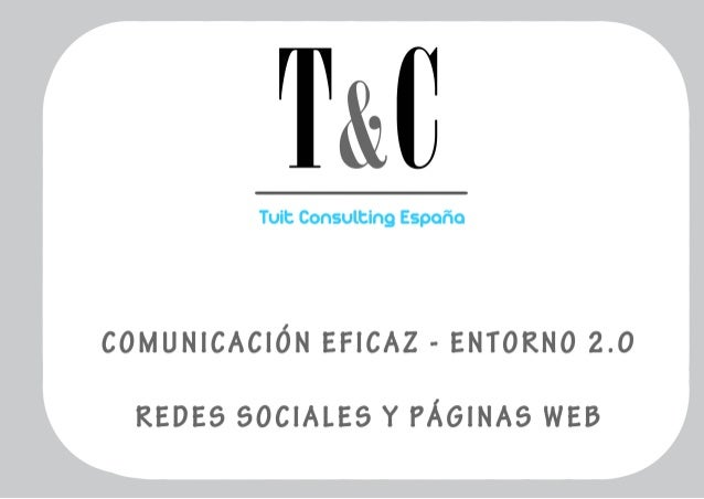 ¿Qué es Tuit Consulting? Gestión de Redes Sociales