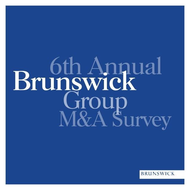 6th AnnualM&A Survey