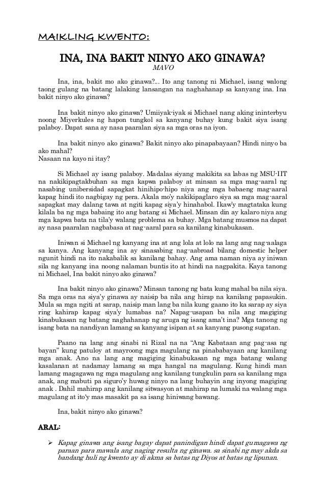 Kwentong Pambata Na May Aral Pdf 44