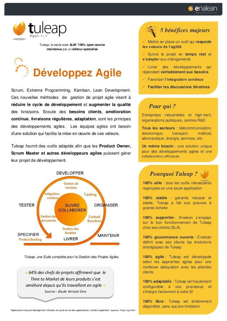 Vos Développements Agiles avec Tuleap