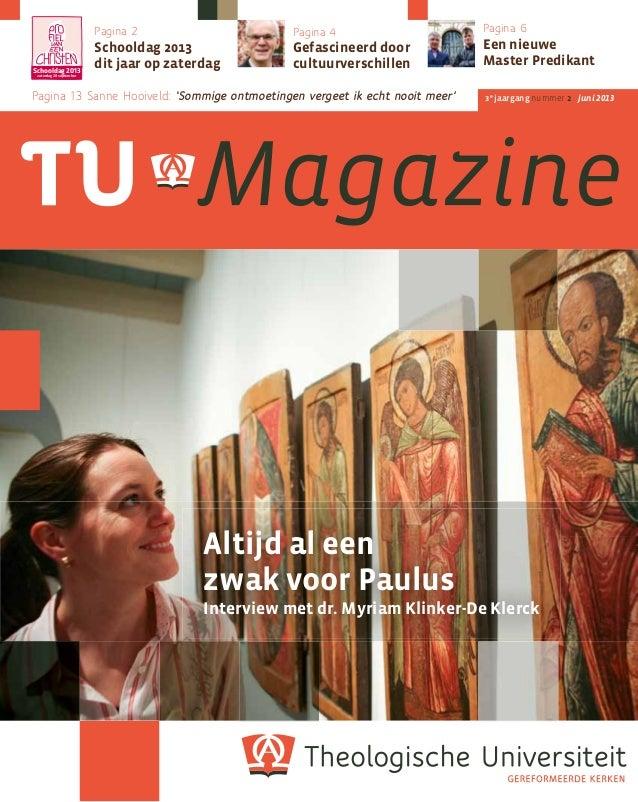 Tu magazine 3 2 (juni 2013)