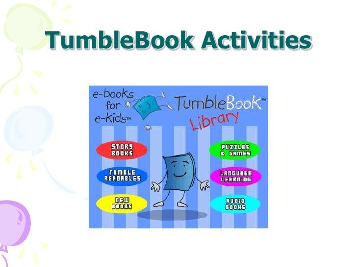 TumbleBook Activities<br />