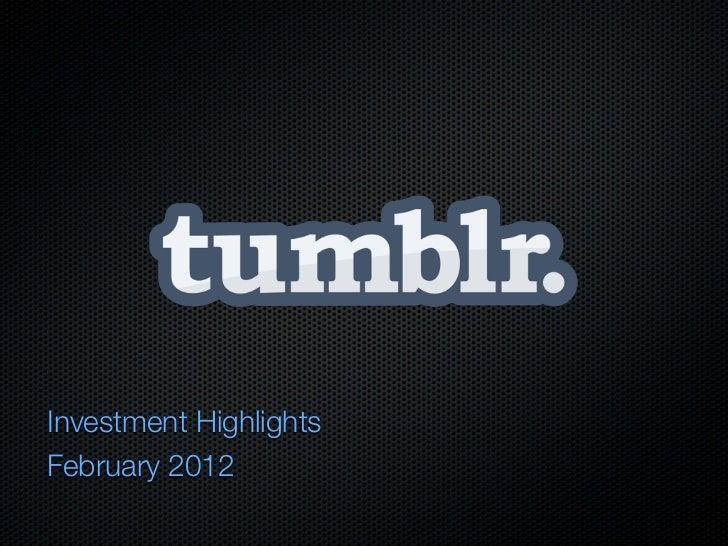 Tumblr slideshare