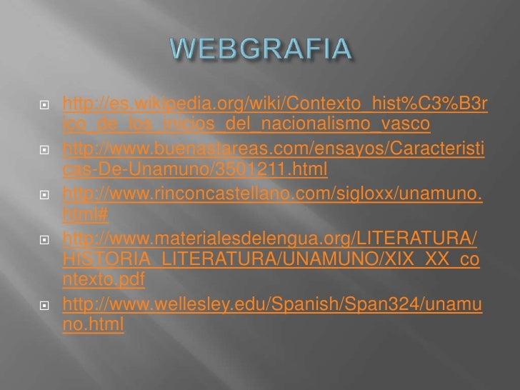 Miguel de Unamuno castilla analisis