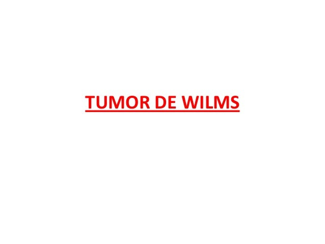 Tumor de wilms point