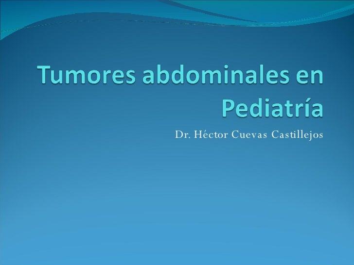 Dr. Héctor Cuevas Castillejos
