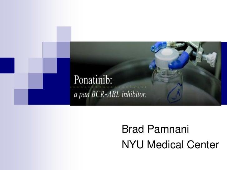 Brad PamnaniNYU Medical Center