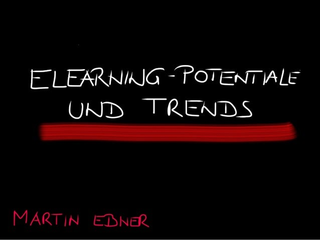 E-Learning Potentiale und Trends
