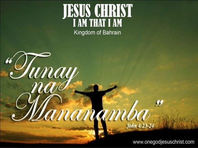 Juan 4:23-24 23 Datapuwa't dumarating ang oras, at ngayon nga, na sasambahin ng mga tunay na mananamba ang Ama sa espiritu...