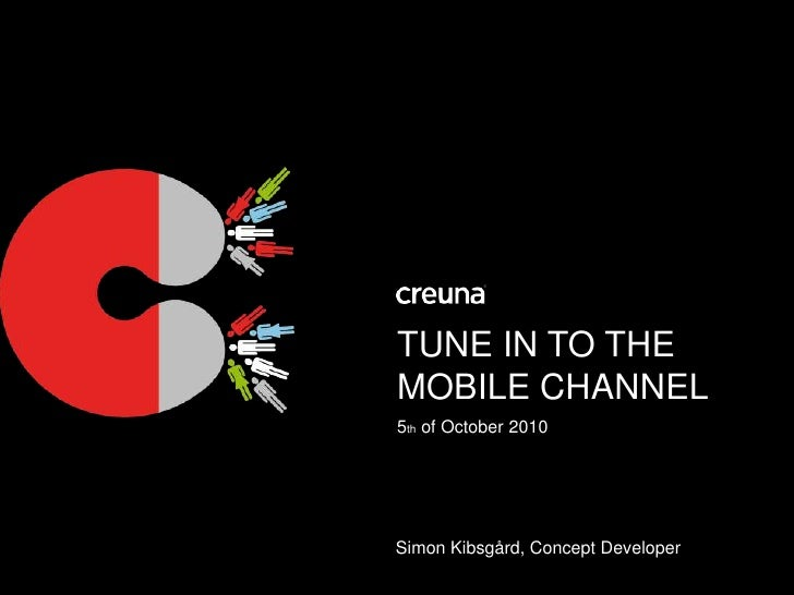 Tune in to the mobile channel