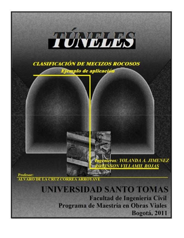 TUNELES  Sistemas de Clasificación.  1-2