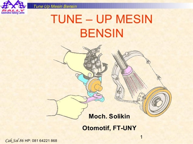 Tune-up mesin bensin