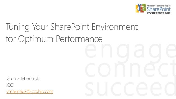 Tuning Your SharePoint Environment