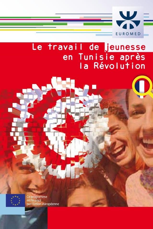 Ce programme est financé par l'Union européenne Le travail de jeunesse en Tunisie après la Révolution