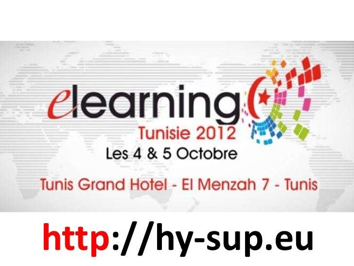 Hy-sup présenté à Tunis octobre 2012