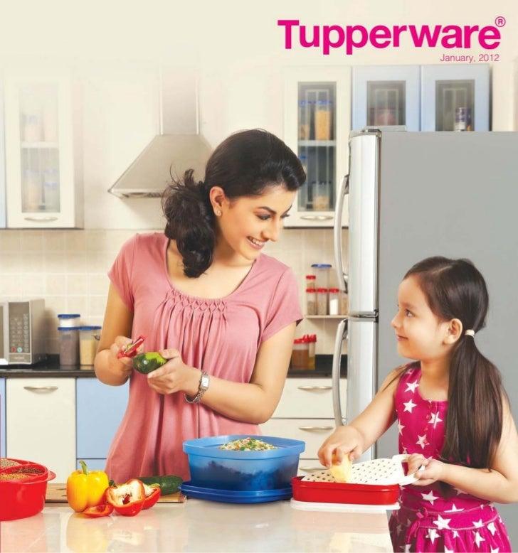 Tupperware catalog   jan 2012