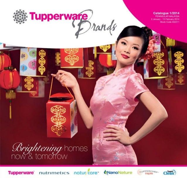 Tupperware January 2014 Catalogue
