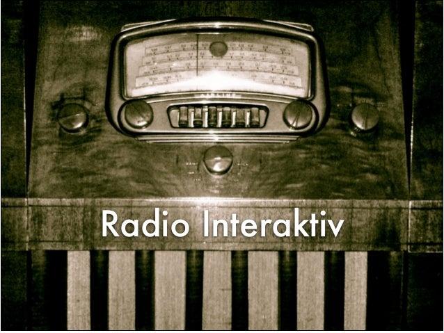 Radio Interaktiv