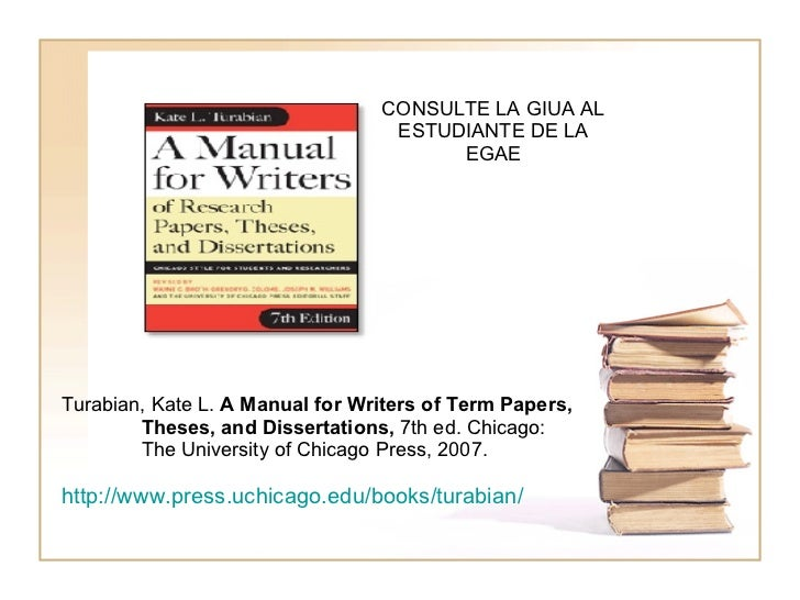 manual research paper Turabian style citations (notes-bibliography style) this guide provides basic guidelines and examples for citing sources using a manual for writers of research papers, theses, and dissertations, 7th edition, by kate l turabian.