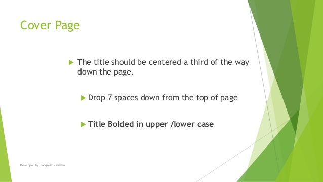 turabian cover page format How to do turabian page numbers the following are detailed instructions on how to correctly place page numbers in microsoft word for turabian format.