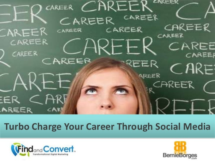 Turbo Charge Your Career Social Media