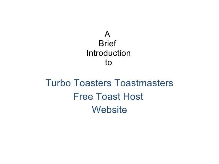 Turbo toasters website