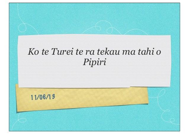 Turei wk 6 term 2pdf