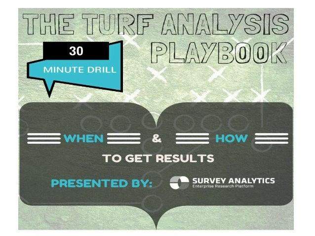 TURF Analysis Playbook